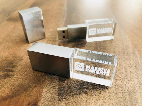 Crystal USB Drives
