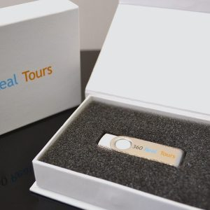 Magnetic White Gift Box