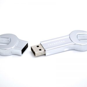 Wrench Shaped USB - U34 - Metal Flash Drive