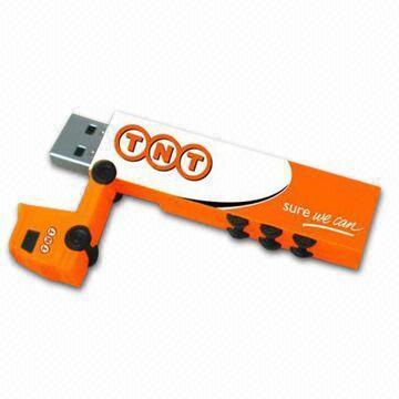 Truck Shape USB Key - U19 - Truck Memory Stick