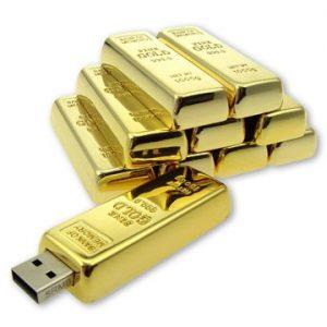 USB Gold Bar - U8