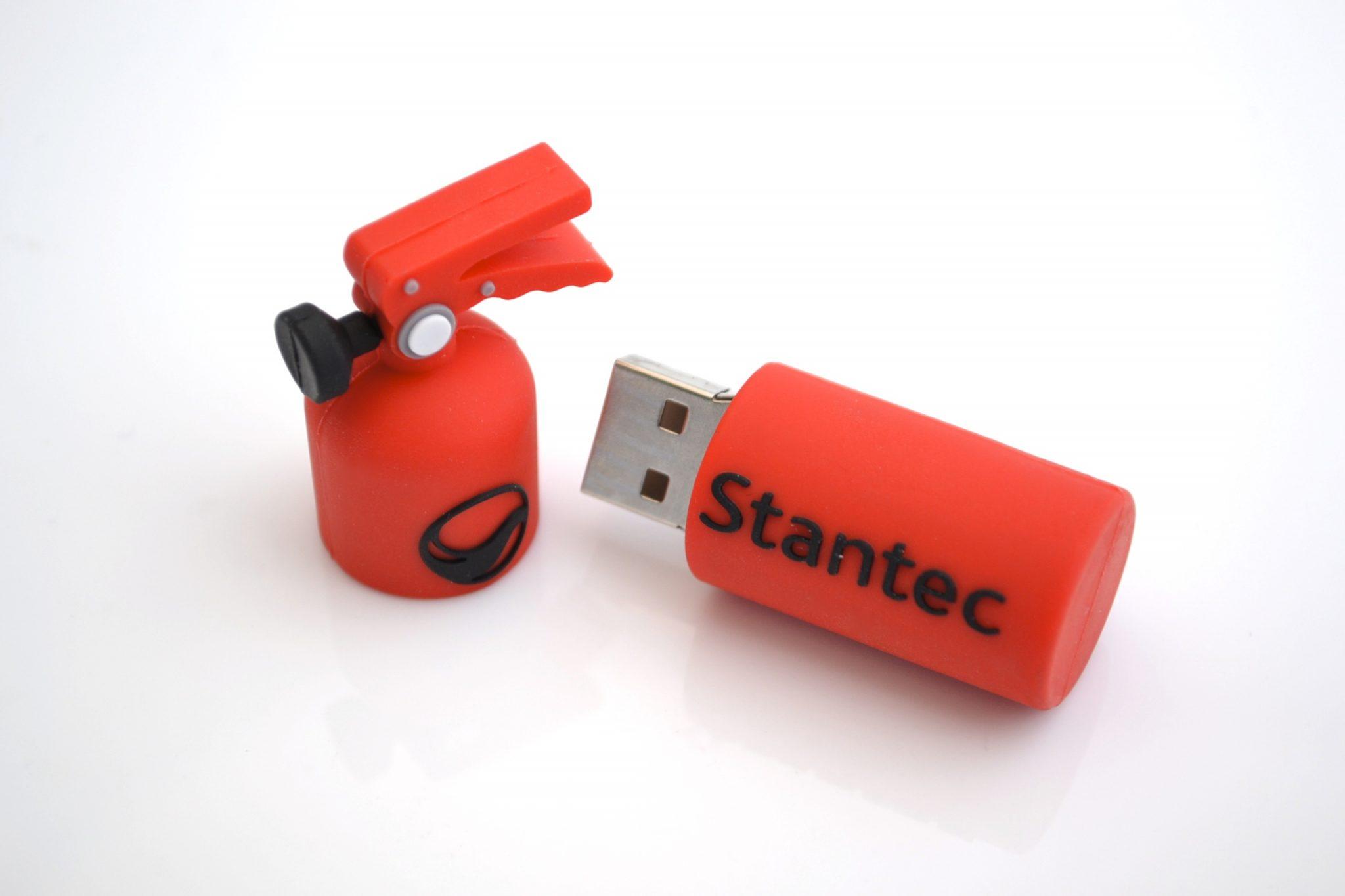 Custom USB 3D shape