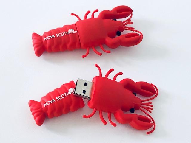 custom usb lobster