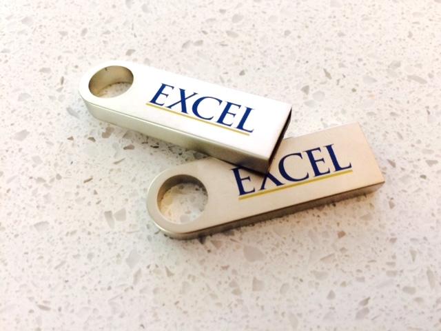 Aluminum USB Key - M10 - Metal Flash Drive