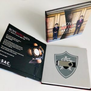 Custom USB booklet