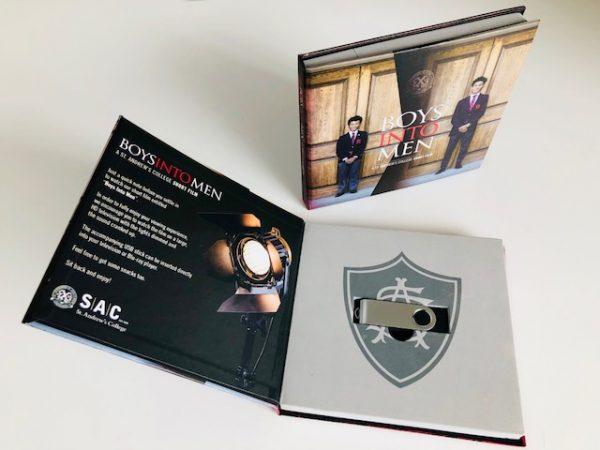 Custom USB booklet