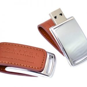 Leather USB Flash Drive - WU14