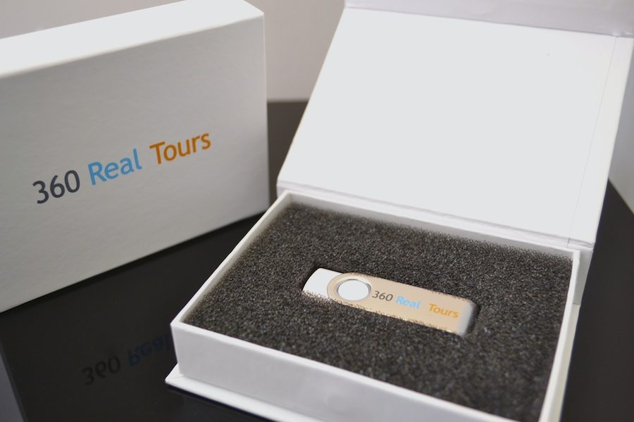 Magnetic White Gift Box