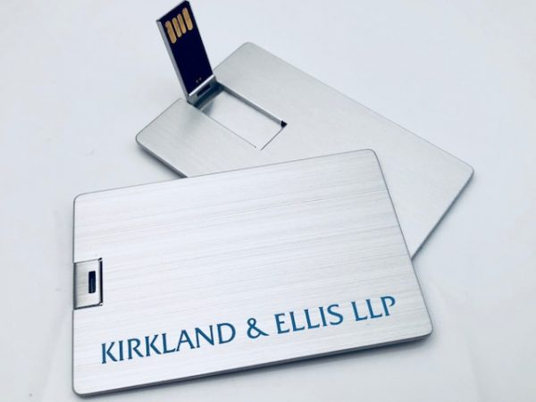 Metal USB Business Card