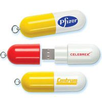 Pill Shaped USB - U21