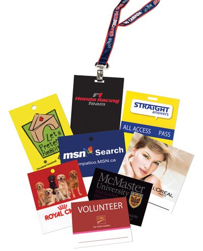 Insert Cards – Lanyards