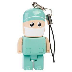 Mini USB Figurines