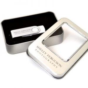 USB Tin Box - small