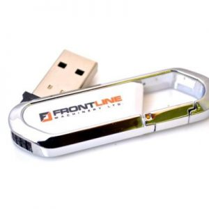 Clip USB Drive - U32 - Carabiner Clip Flash Drive