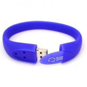 USB wristband - B2 - USB Bracelet