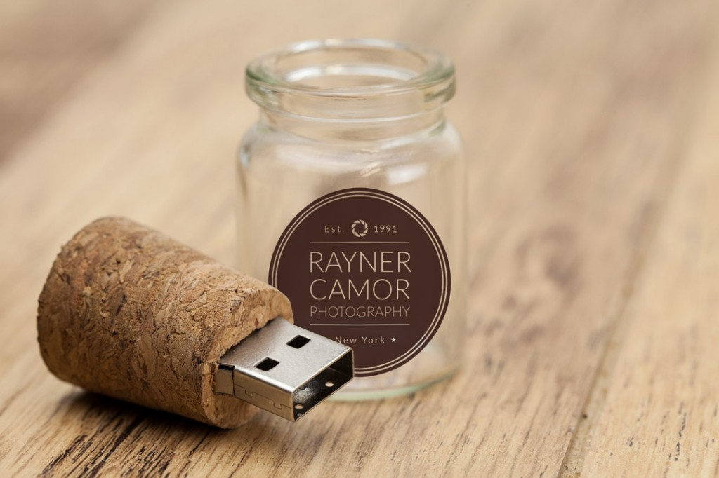 glass bottle usb