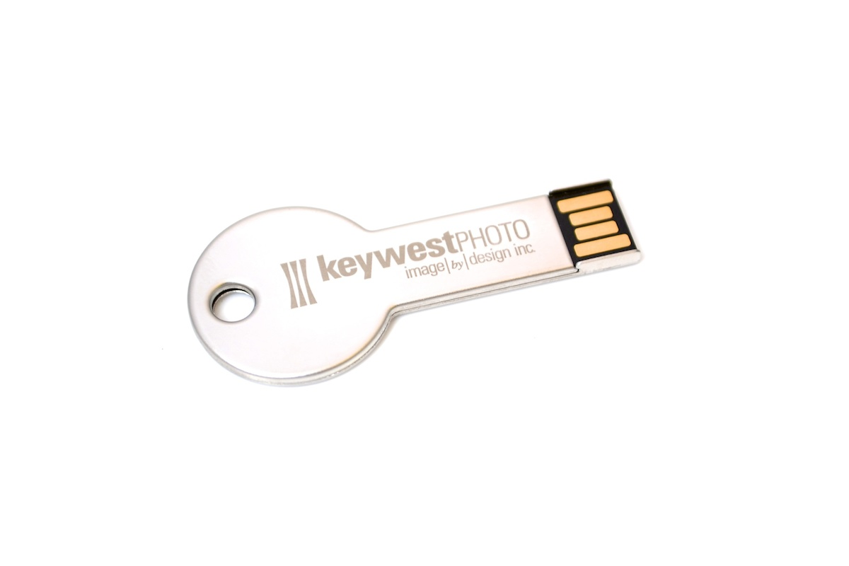 Key Shaped Flash Drive - M4