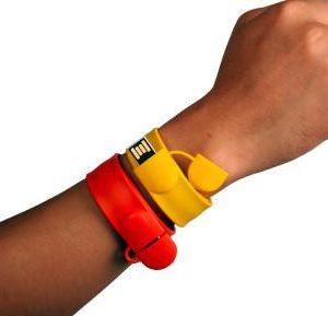 USB Slap Bracelet - B4