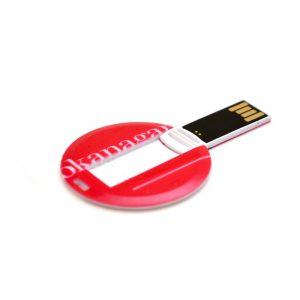 Medallion Shape USB Cards