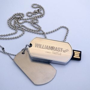Military Dog Tag USB - X3