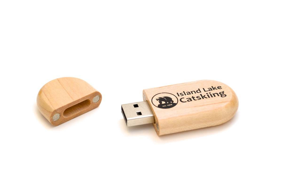 Wooden USB Key - WU2