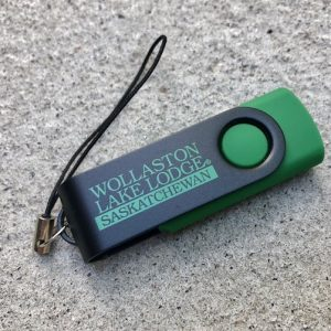 twister usb drive - green
