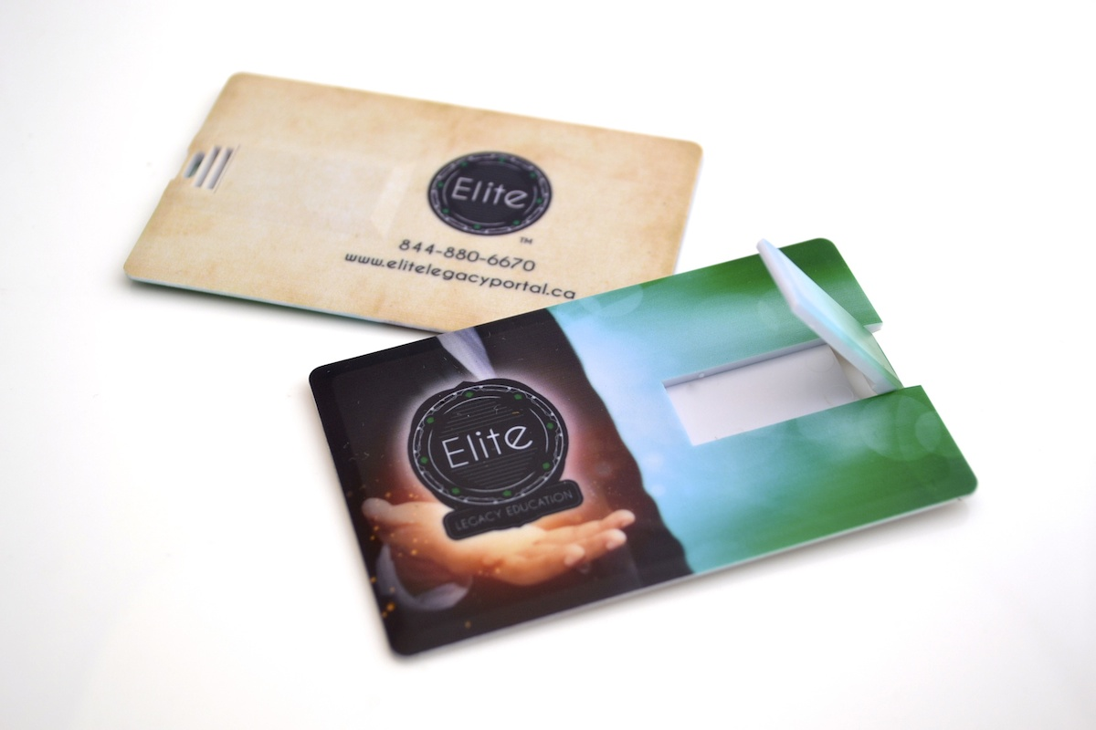 USB Business Cards - Credit Card USB - c2