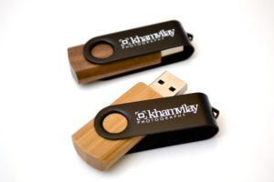 Wooden USB Twister