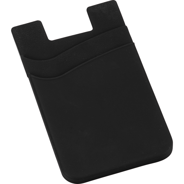 Dual Silicon Phone Wallet - Custom Phone Wallets
