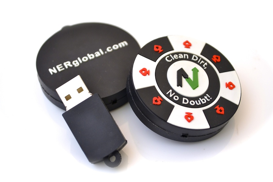 Poker Chip Shaped USB Key