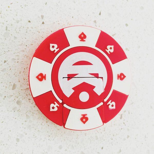 Poker Chip Shaped USB Key