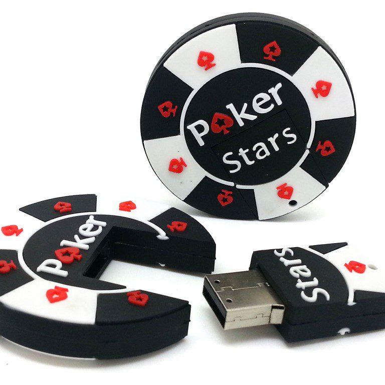 Poker Chip Shaped USB Key   USB Canada