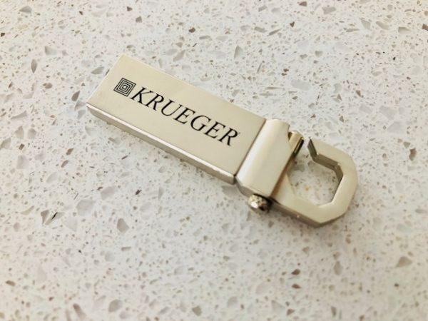 Promotional USB Keychain