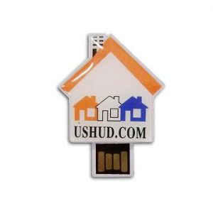 House shaped usb key