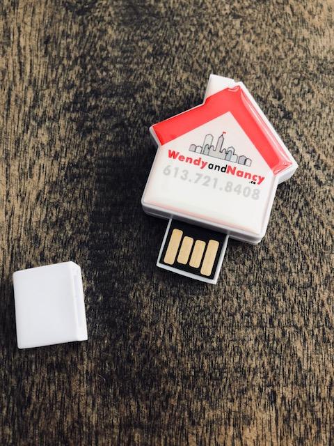 House shaped usb key