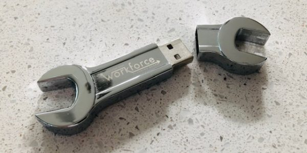 Metal Wrench Shape USB