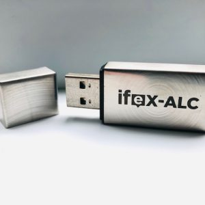 brushed metal USB