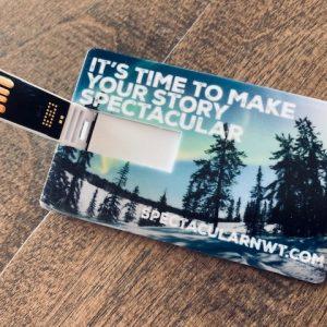 Custom USB Business Card