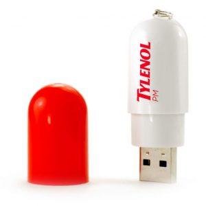 Pill Shape USB